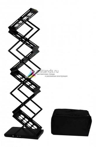 Буклетница Metal Holder А4